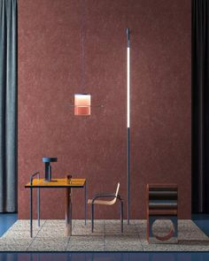 Surrealistic Post-Soviet Resort : Yalta Foyer – Trendland Online Magazine Curating the Web since 2006 3d Interior Design, Interior Architecture, 3d Design, Light And Space, Steel Table, Hallway Decorating, Decorating Ideas, Minimalist Art, Chair Design