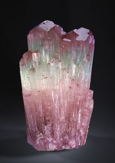 "bijoux-et-mineraux: ""Tourmaline - Paprok, Nuristan Province, Afghanistan Watch it on video here. Minerals And Gemstones, Rocks And Minerals, Natural Gemstones, Crystal Magic, Beautiful Rocks, Mineral Stone, Rocks And Gems, Stones And Crystals, Film Photography"
