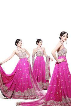 Sadia Khan Photo Shoot for Lajwanti Bridal Wear Pictures