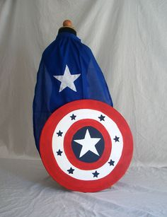 Captain America Supper Hero Costume with by Passion4Expression