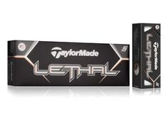 "The Lethal (""Lethal"" is used as the sidestamp on the ball) is designed to work well with today's irons that focus on helping golfers launch the ball higher. The Lethal's design takes that into account, with characteristics that counteract ballooning and keep the ball on a more penetrating trajectory."
