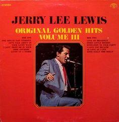 Jerry Lee Lewis – Original Golden Hits Volume III LP 1971