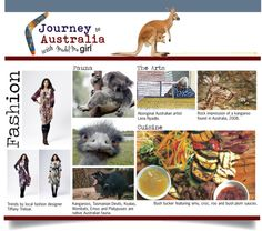 """Journey to Australia with Model Me Girl"" by modelmegirl on Polyvore"