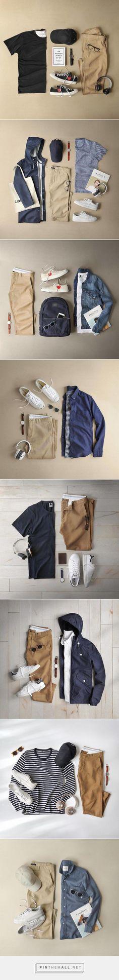 How To Wear Khaki CHINOS for men. #mensfashion