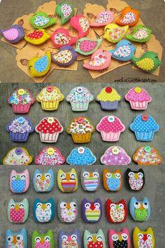 Cupcake e passarinhos