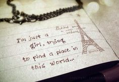 A Place in this World :)