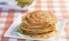Receita de Frigideira de abobrinha - Omelete - Dificuldade: Fácil - Calorias: 87 por porção