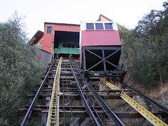 """Se parece al funicular en la película: """"Sol y viento' en Santiago"""