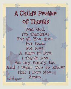 Prayer for kids