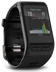 Garmin vívoactive HR GPS Smart Watch, Regular fit – Black  http://stylexotic.com/garmin-vivoactive-hr-gps-smart-watch-regular-fit-black/