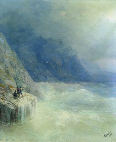 Скалы в тумане. 1890 - Айвазовский Иван Константинович