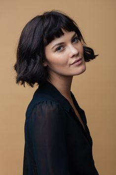 cute-easy-short-haircuts Cute Easy Hairstyle Ideas for Short Hair hair styles Cute Easy Hairstyle Ideas for Short Hair - The UnderCut Very Short Hair, Short Hair With Bangs, Hairstyles With Bangs, Short Hair Cuts, Easy Hairstyles, Hairstyle Ideas, Long Bangs, Undercut Hairstyle, Short Undercut