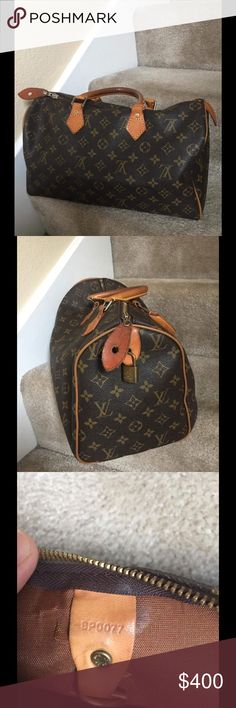 Speedy 35 Louis Vuitton Prelove clean inside no stain great for travelling very light il take any offer not below 360 Louis Vuitton Bags