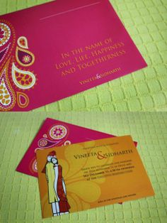 #Indian #Wedding #Invite