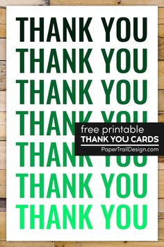 Free printable thank you card template to print for a fast and easy diy thank you card for free. Sympathy Thank You Cards, Thank You Card Images, Cute Thank You Cards, Graduation Thank You Cards, Wedding Thank You Cards, Free Printable Birthday Cards, Printable Thank You Cards, Thank You Card Template, Printable Crafts