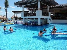 Excellence Playa Mujeres, Cancun   Gorgeous resort looking directly at the island of Isla Mujeres!