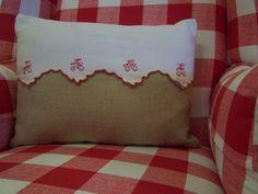 Pillow ~ Vintage detail