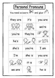 La Escuela de Ingles de Eva: Personal pronouns and verb to be