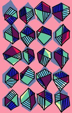 Hexagons - Sarah Bagshaw