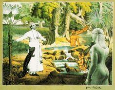 Collage de Jacques PREVERT des  animaux terrestres