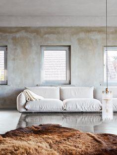 vintage '70s-era sofa from Marenco  DiAiSM ATELIER DIA TJANTeK ArT SPACE TJANN ACQUiRE UNDERSTANDING