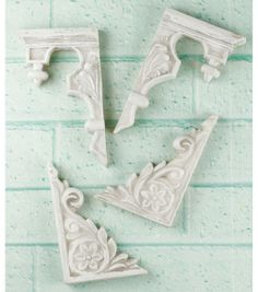 """Shabby Chic Resin Treasures-Stair Ornaments 1""""-1.75"""", , hi-res"""