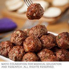 Italian meatballs - Mayo Clinic
