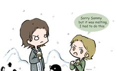 Day 13: Eating icecream (Sabriel) by Nile-kun.deviantart.com on @deviantART