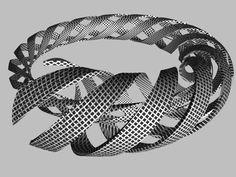 m c escher | 09. M.C. Escher. Spirals. 1953 | Tendências do imaginário