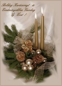 Christmas Time, Merry Christmas, Advent, Garland, Greeting Cards, Candles, Table Decorations, Winter, Crafts
