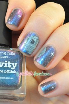 Picture polish gravity nailstorming star wars