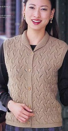örgü 10 – Knitting patterns, knitting designs, knitting for beginners. Baby Knitting Patterns, Lace Knitting, Knitting Designs, Knit Crochet, Knit Cardigan Pattern, Dame, Knitwear, Creations, Sweaters For Women
