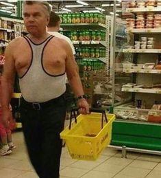 Tough Guy Tank Tops at Walmart Walmart Pictures, Epic Fail Pictures, Funny Pictures, Funny Photos Of People, Funny People, People Of Walmart, Strange Photos, Tough Guy, Funny Love