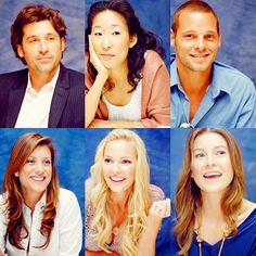 Cast of Greys in earlier seasons!
