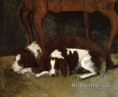 Gilbert Stuart,The Hunter Dogs oil painting reproductions for sale
