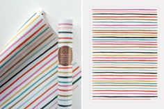 Gift Wrapping Guide: Modern Prints