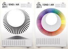 20 Creative Calendars For Year 2011 Calendar 2011. Calendar based on UK daylight hours & temperatures. by Alexander Glenn)