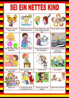Willkommen auf Deutsch - Sei ein nettes Kind - Imperativ
