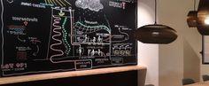 wallcovering | walltalker | krijtbord Wand als krijtbord door krijtfolie op wand