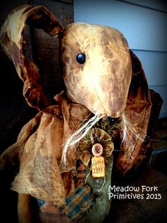 Primitive Folk Art Spring Amelia Sue Old by MeadowForkPrims