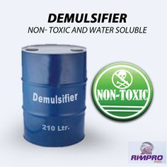 Used for separating emulsions like water in oil are known as demulsifier or emulsion breaker. Emulsion breaking is considered one of the complex process. It helps in smother operations, drier oil and clean water.