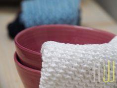 Jeden Monat ein neues Muster für die tollen selbstbestrickten Spültücher im MfW-Shop