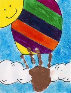 preschool bulletin boards hot air balloons | Share