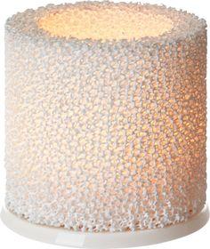 Iittala - Fire Candleholder 9 cm white - Iittala.com