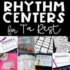 Music Centers: How to prepare your students for centers in the music room and lots of ideas for music centers for the Kodaly Inspired Classroom!