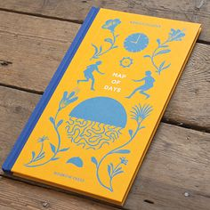 Map of Days by Robert Hunter | 19 Awesomely Designed Books From 2013 That Prove Print Isn't Dead