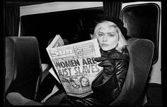 The truth, according to Debbie Harry. #throwback