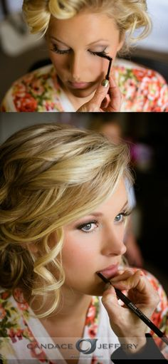 Wedding Makeup Ideas! #candacejefferyphotography #makeupideas #weddingmakeup