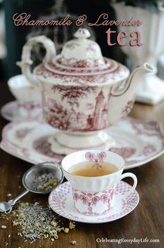 Lovely China ~ Chamomile & Lavender Tea