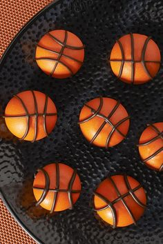 Don't be a ball hog! These yummy OREO Cookie Ball Basketballs were made to share with every player on your team.